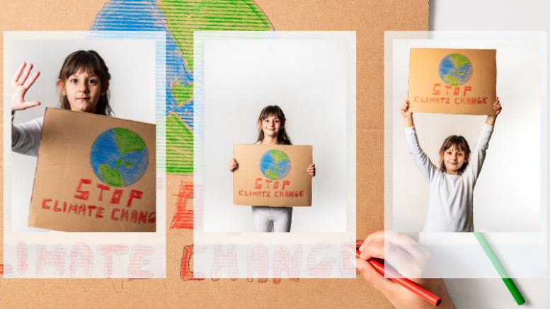 κλιματική αλλαγή-παιδικά δικαιώματα